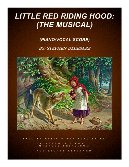 Little Red Riding Hood: the musical (Conductor Score)