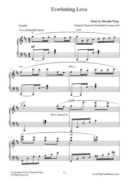 Everlasting Love -  Recessional Wedding Piano Music by Miranda Wong