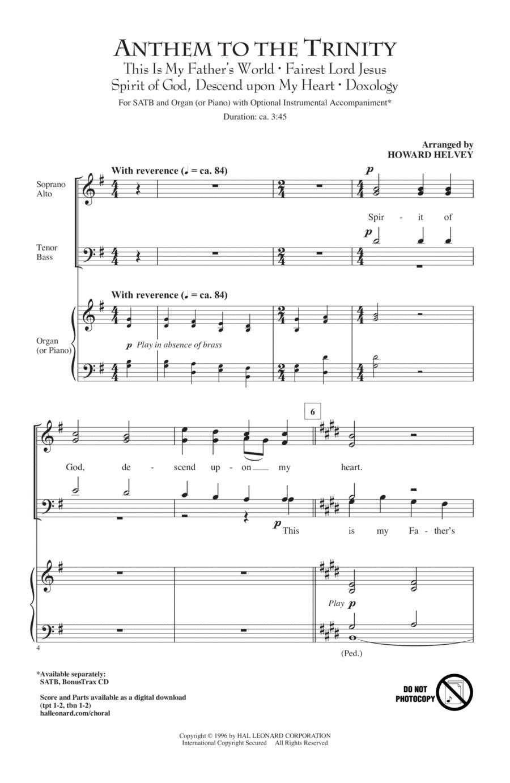 Anthem Of Trinity