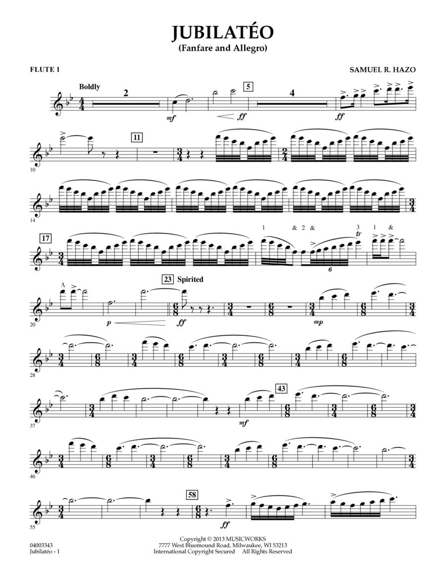 Jubilateo - Flute 1