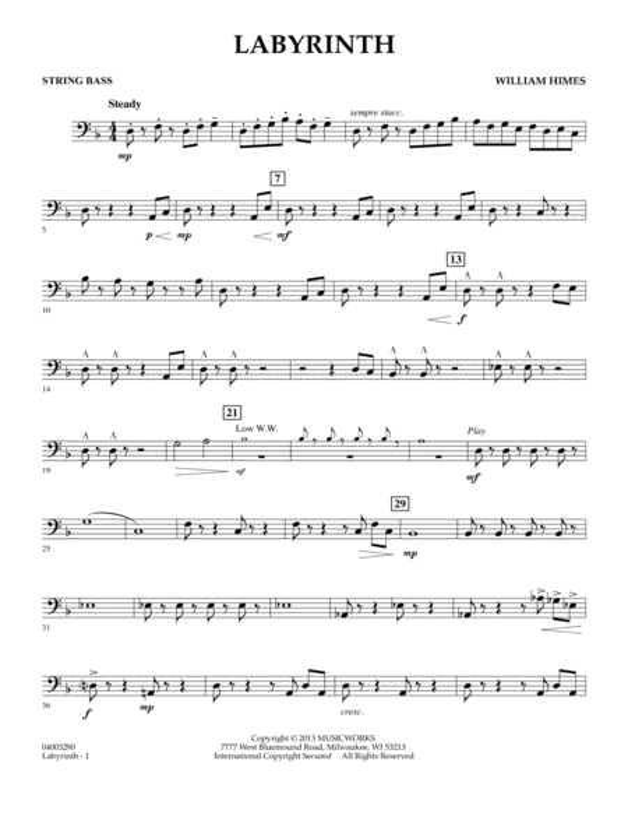 Labyrinth - String Bass