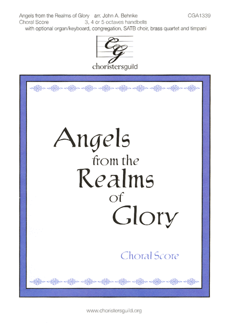 Angels from the Realms of Glory (Choral score)