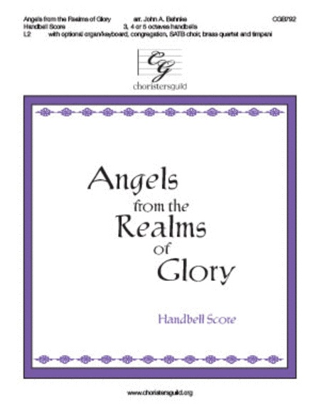 Angels from the Realms of Glory (Handbell score)