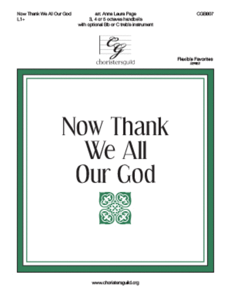 Now Thank We All Our God (3-5 octave)
