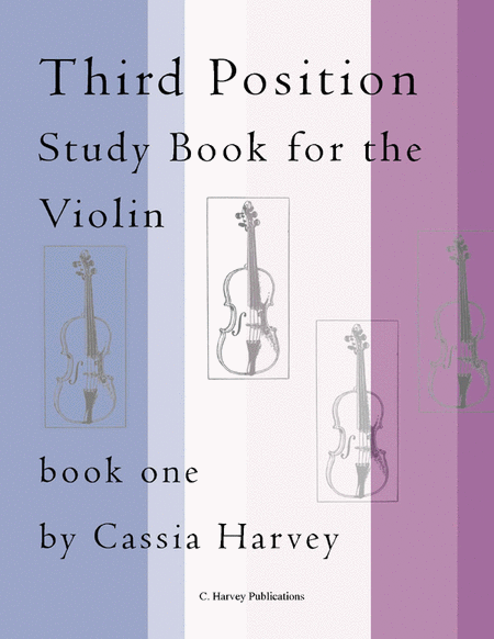 Third Position Study Book for the Violin