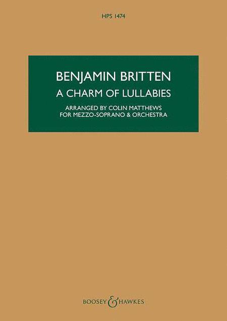 A Charm of Lullabies, Op. 41