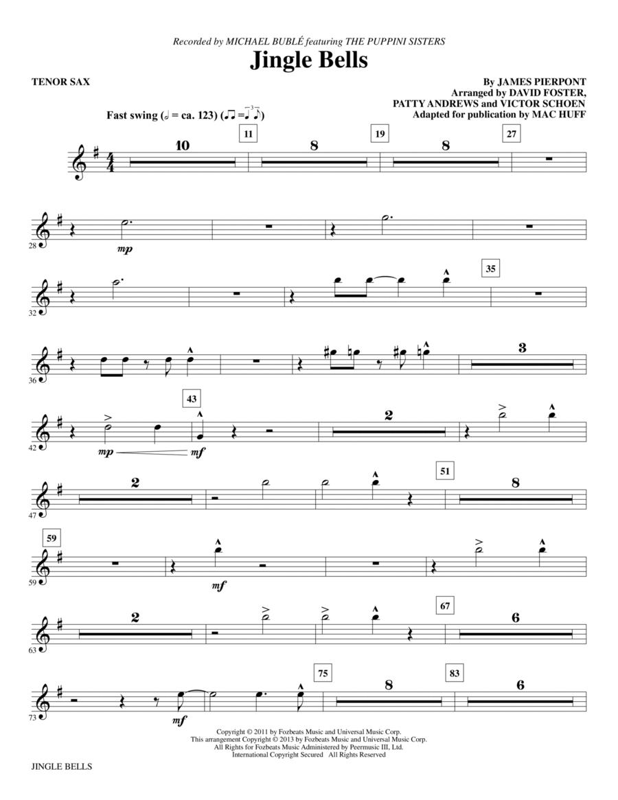 Jingle Bells - Tenor Sax