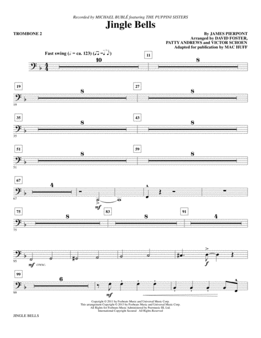 Jingle Bells - Trombone 2