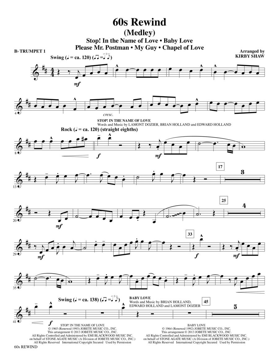 60s Rewind - Bb Trumpet 1