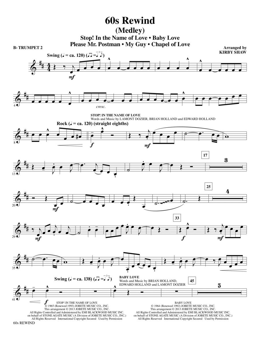 60s Rewind - Bb Trumpet 2