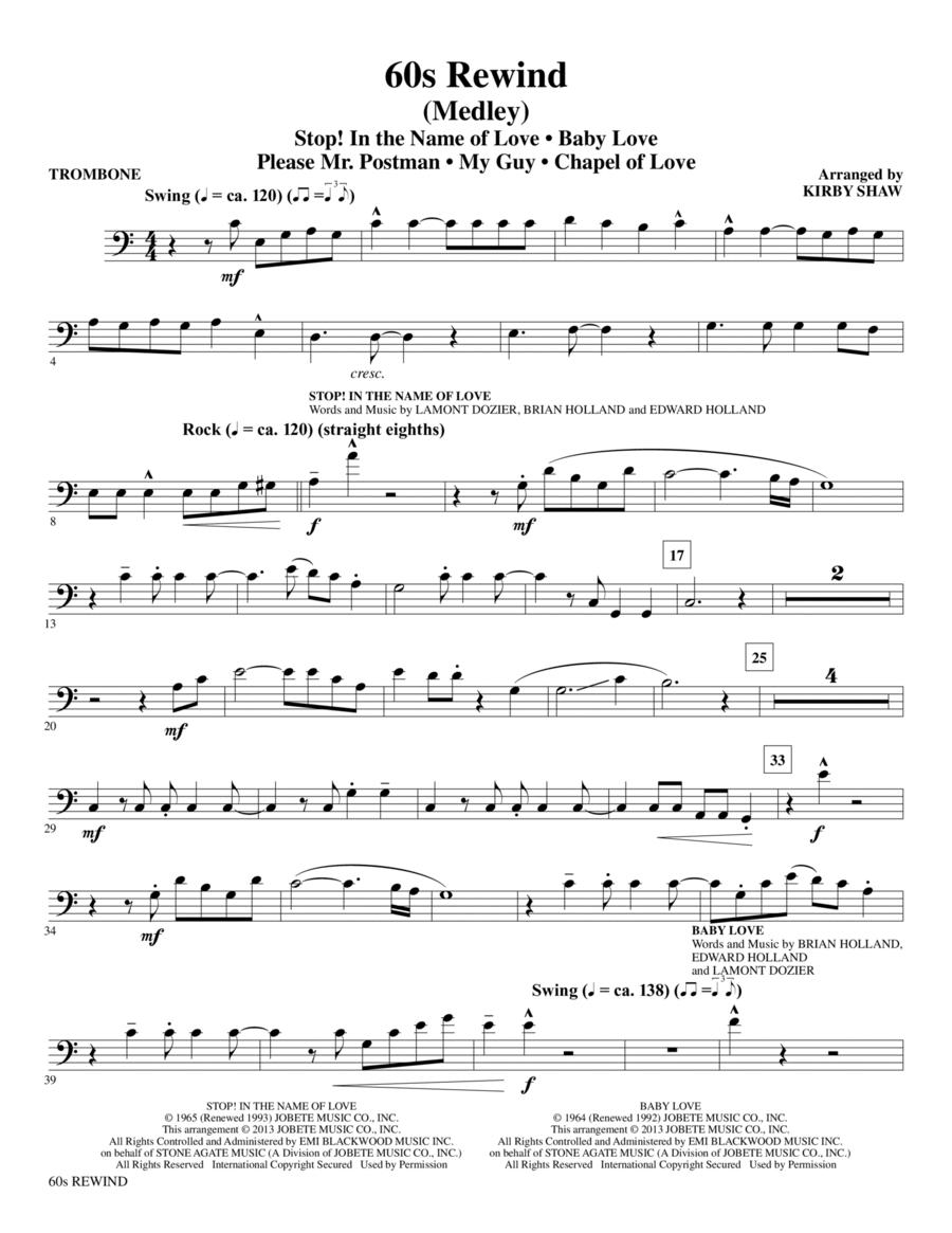 60s Rewind - Trombone