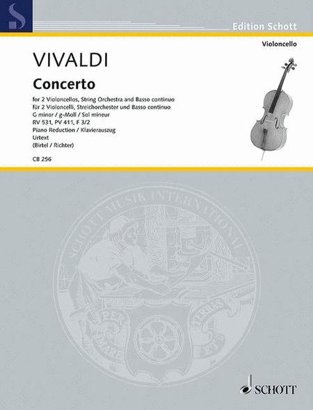 Concerto G minor RV 531