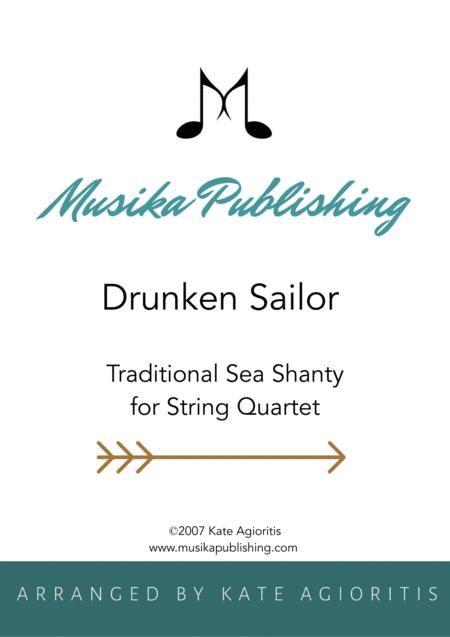 Drunken Sailor - for String Quartet