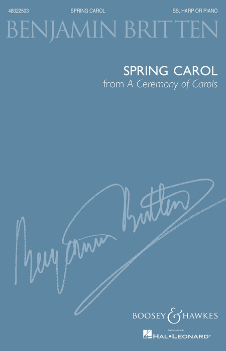 Spring Carol (from A Ceremony of Carols)