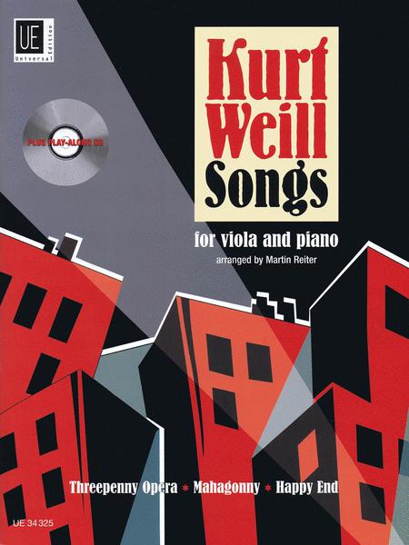 Kurt Weill Songs