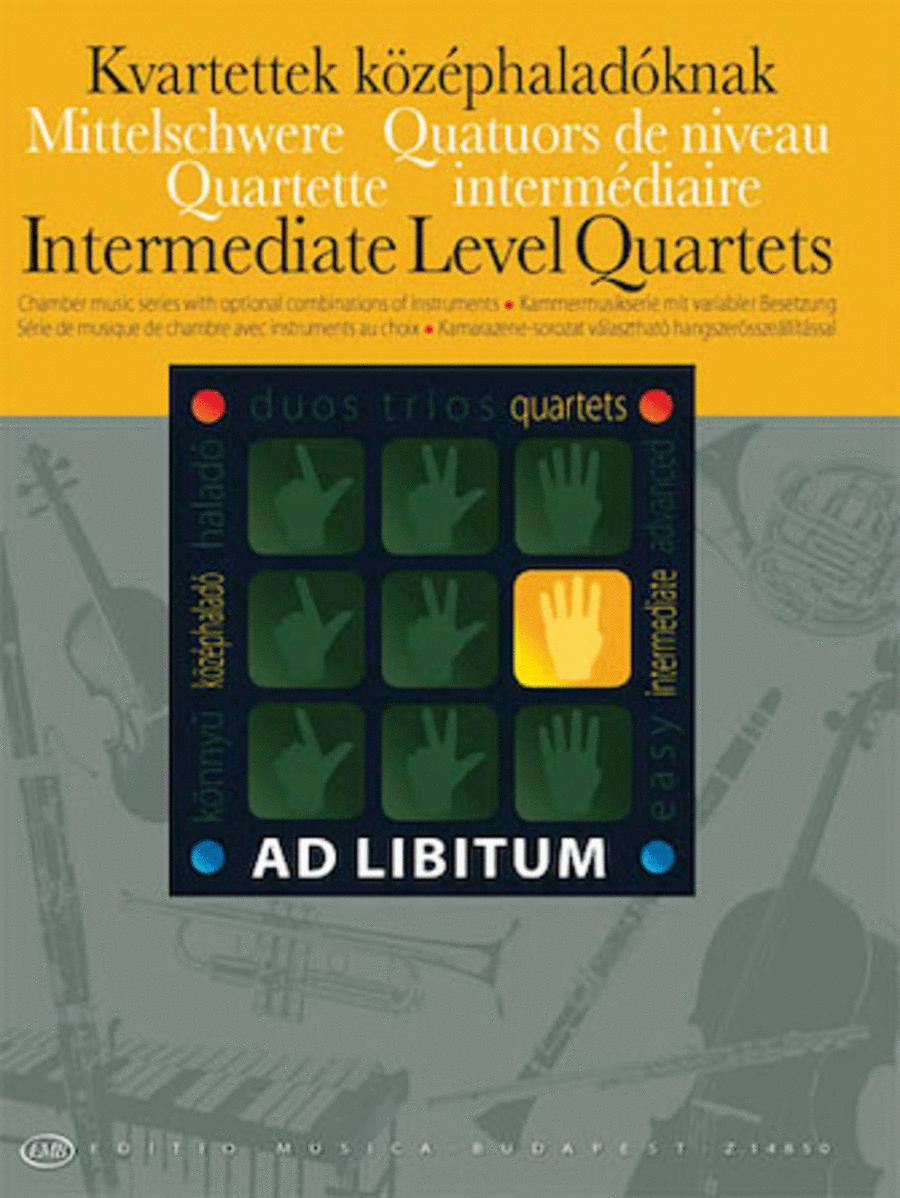 Intermediate Level Quartets