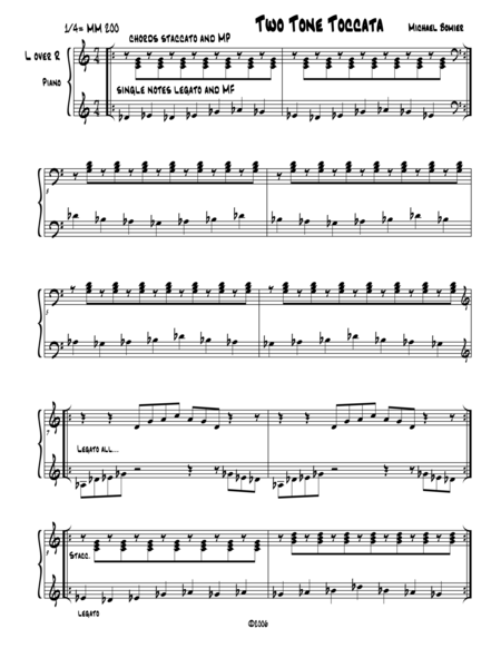 Two-Tone Toccata from Not Major or minor Music