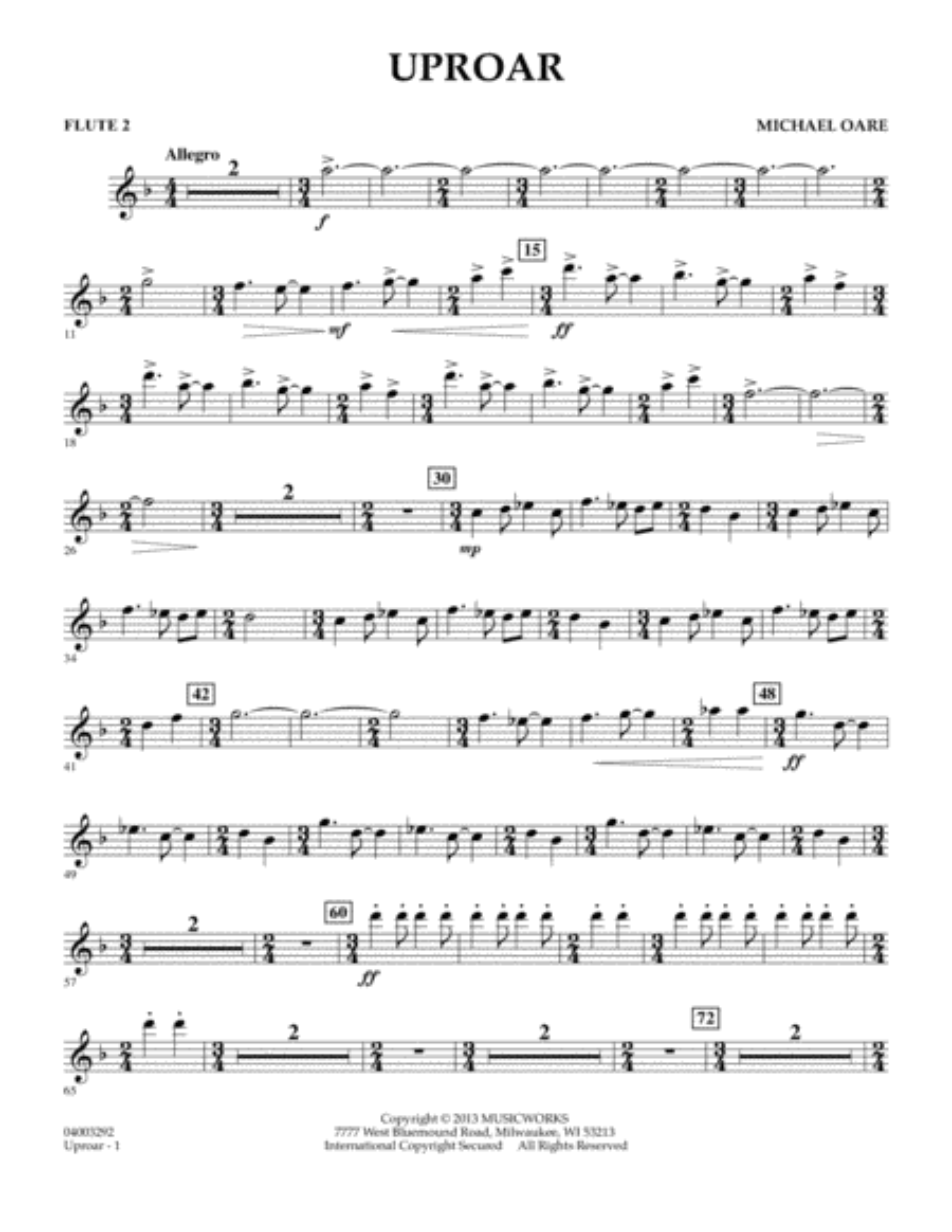 Uproar - Flute 2