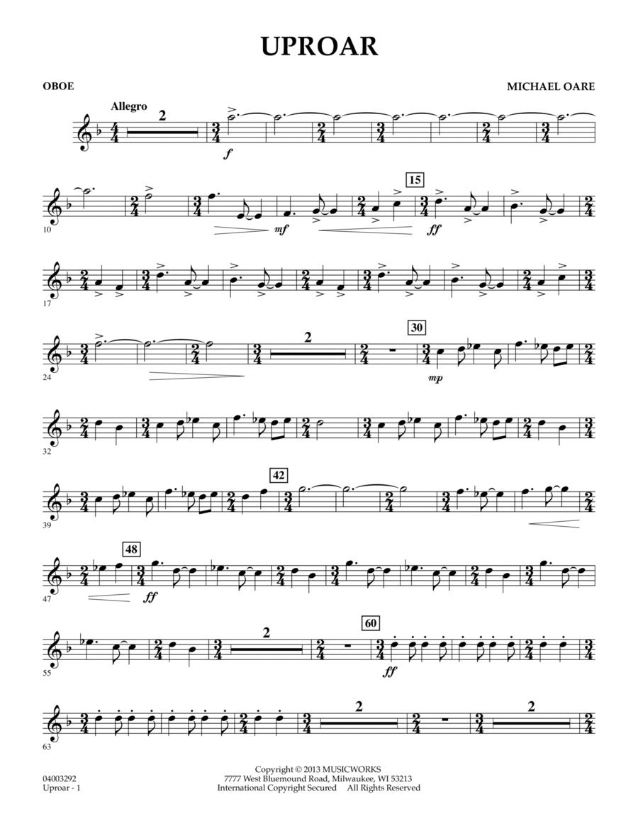 Uproar - Oboe