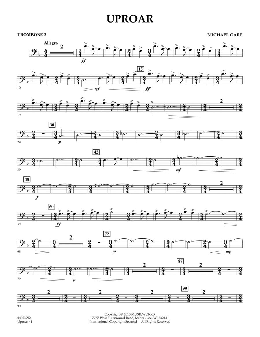 Uproar - Trombone 2