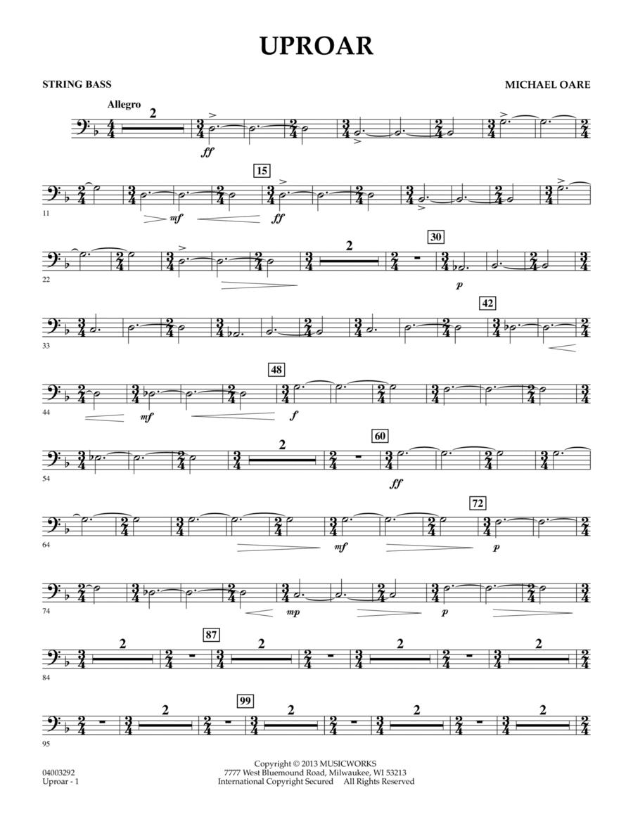 Uproar - String Bass