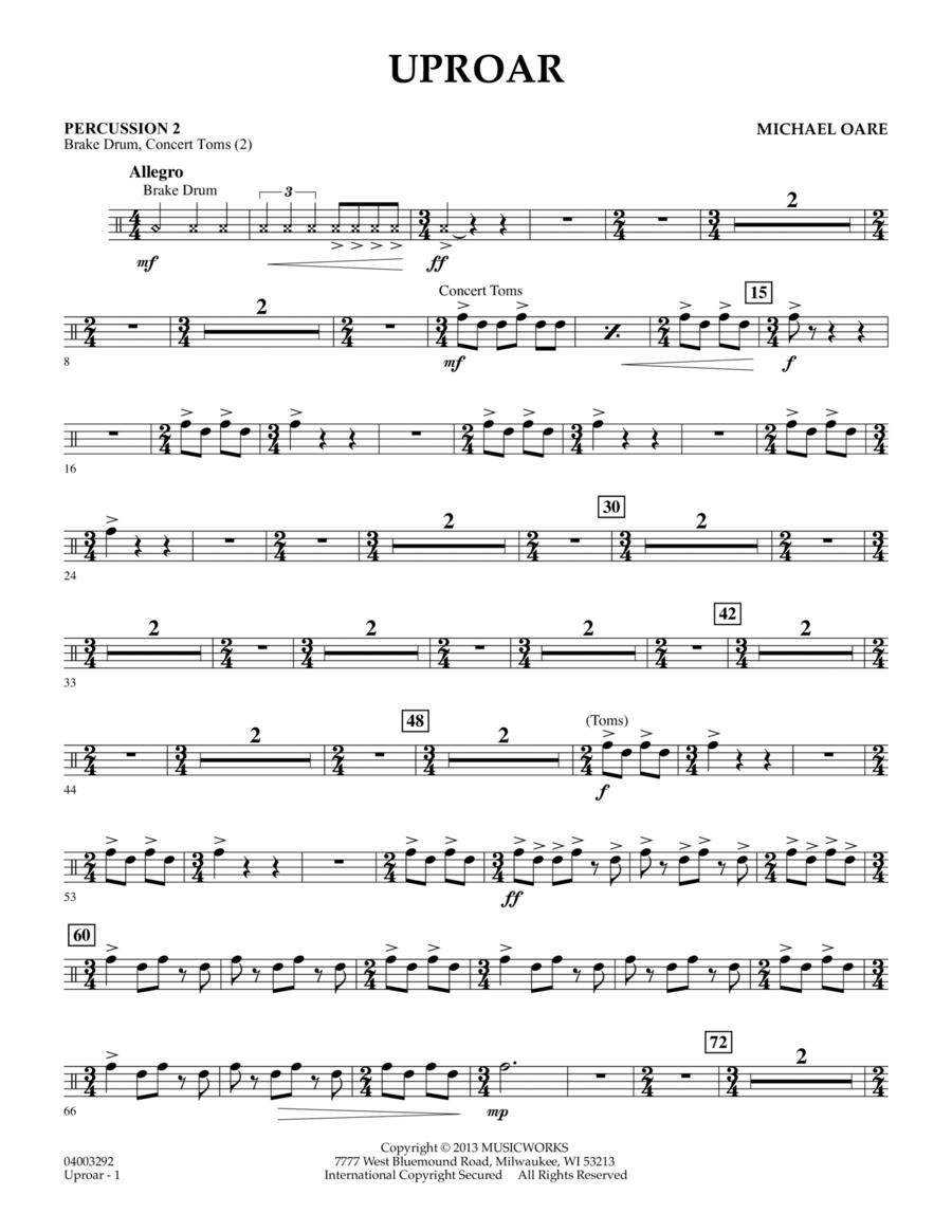 Uproar - Percussion 2