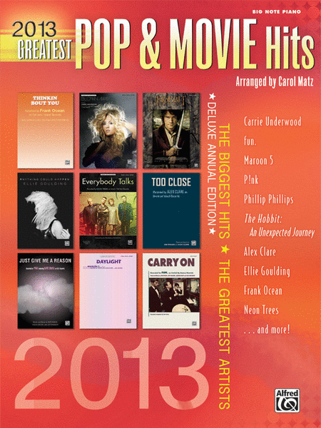 2013 Greatest Pop & Movie Hits