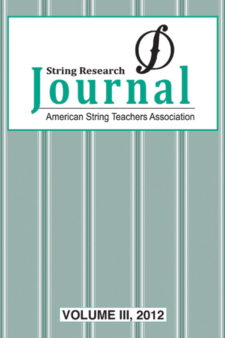 String Research Journal 2012, Volume 3