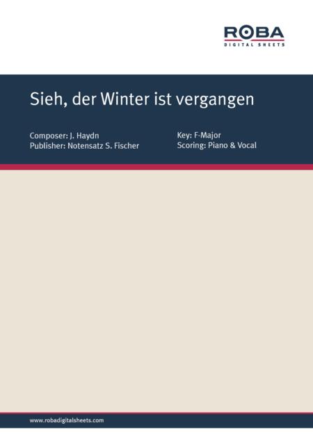Sieh, der Winter ist vergangen