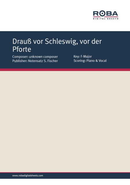 Drauss vor Schleswig, vor der Pforte