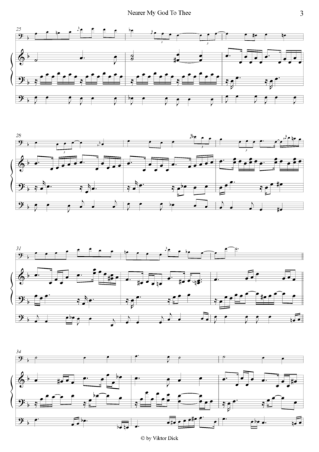 Nearer My God To Thee (Cello & Organ)