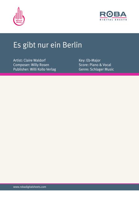 Es gibt nur ein Berlin