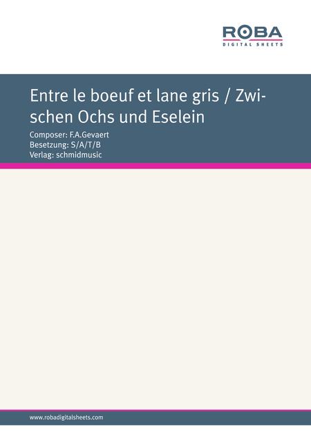 Entre le boeuf et lane gris / Zwischen Ochs und Eselein