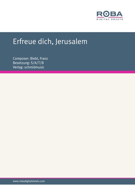Erfreue dich, Jerusalem