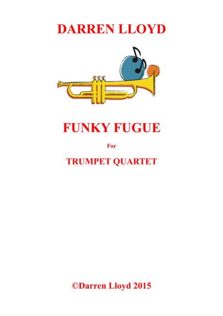 Funky Fugue for Trumpet quartet