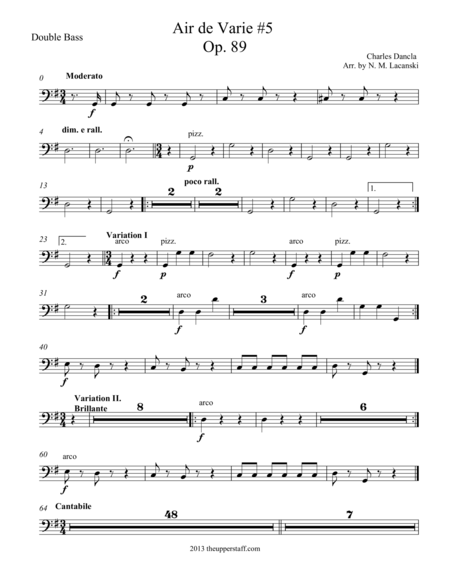 Air de Varie #5 Op. 89