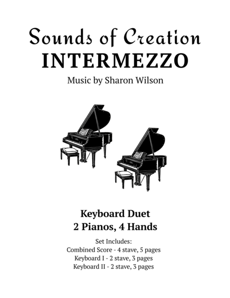 Sounds of Creation - Intermezzo (keyboard duet, 2 pianos, 4 hands)