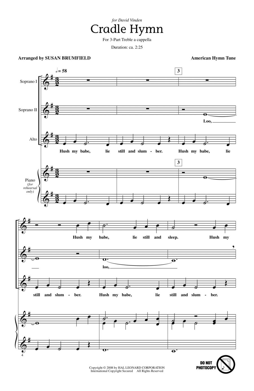 Cradle Hymn