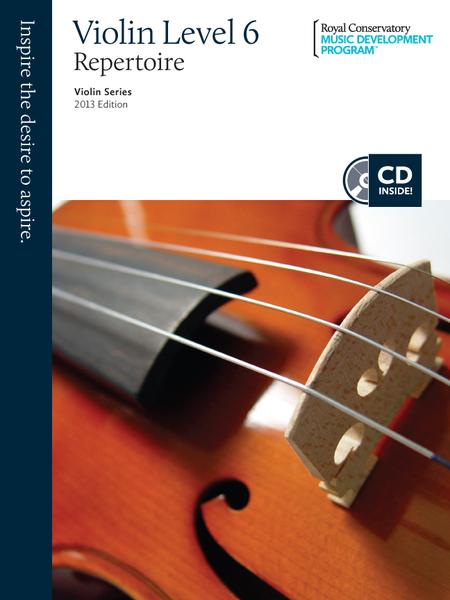 Violin Series: Violin Repertoire 6