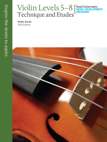 Violin Technique and Etudes: 5-8