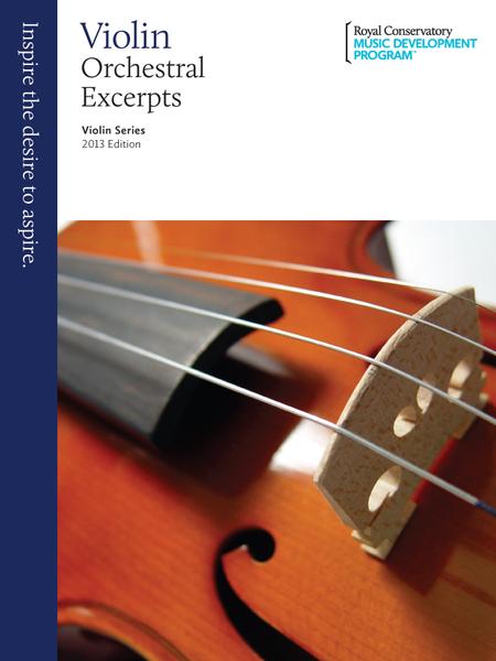 Violin Series: Orchestral Excerpts