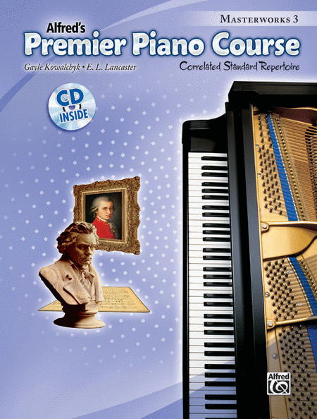 Premier Piano Course Masterworks, Book 3