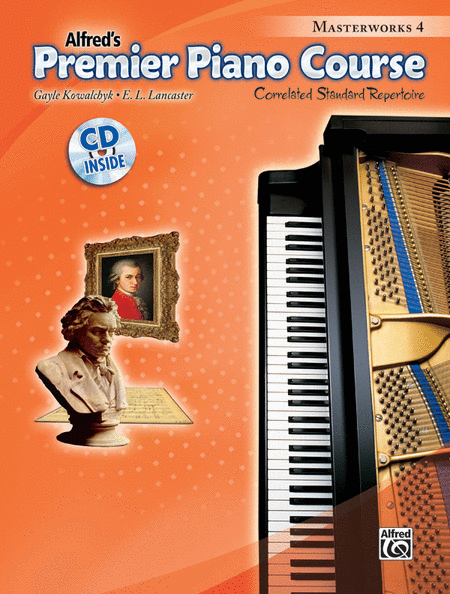 Premier Piano Course Masterworks, Book 4