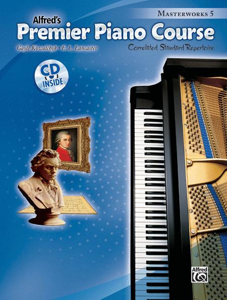 Premier Piano Course Masterworks, Book 5