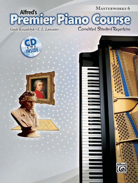 Premier Piano Course Masterworks, Book 6