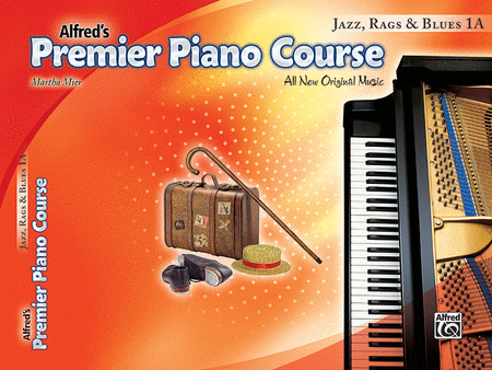 Premier Piano Course Jazz, Rags & Blues, Book 1A