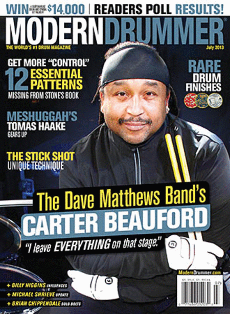 Modern Drummer Magazine - July 2013