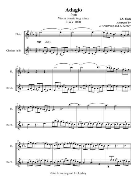 Adagio from Sonata in G minor