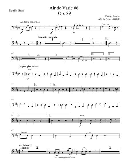 Air de Varie #6 Op. 89