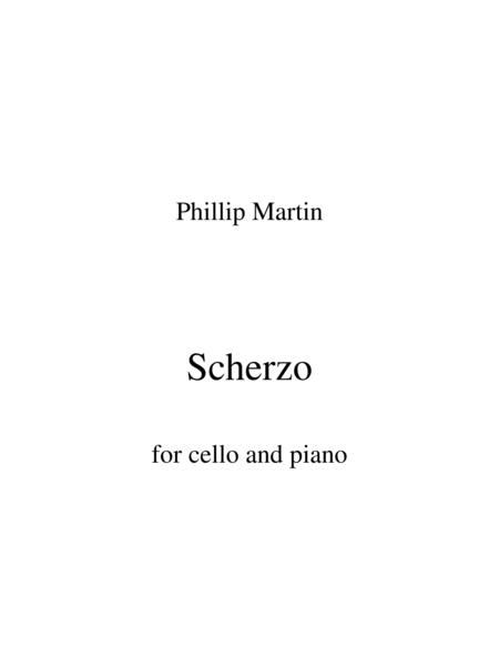 Scherzo for cello and piano